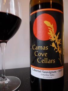 Camas Cove Cellars Cabernet Sauvignon Red Wine