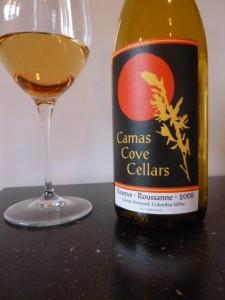 Camas Cove Cellars Reserve Roussanne